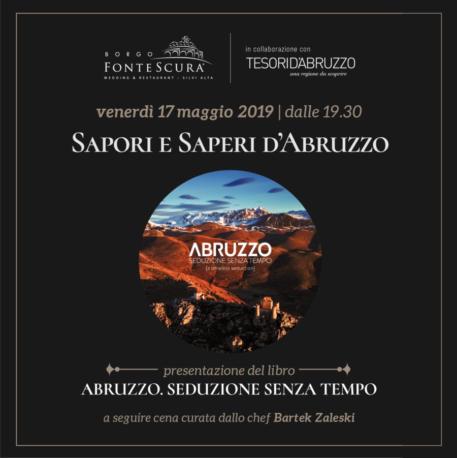 17  MAGGIO 2019 – SAPORI E SAPERI D'ABRUZZO